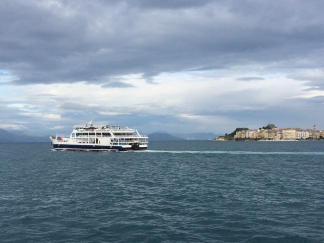 Korfu Kerkyra Hafen
