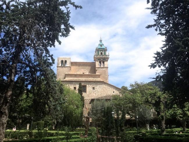 Kartause Kirche Georg Sand Mallorca Valldemossa Chopin