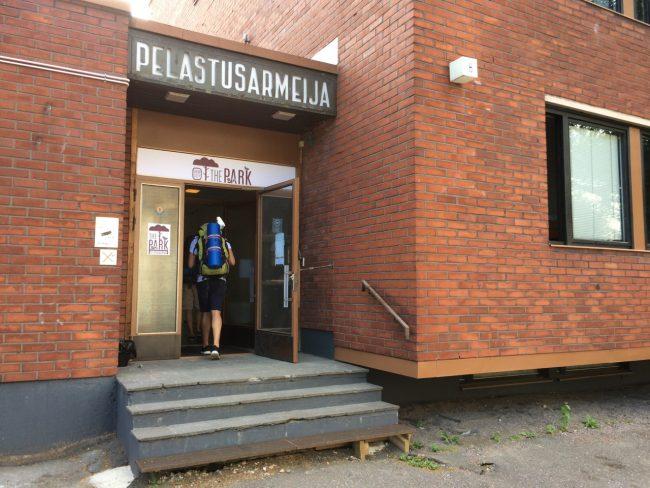 Heilsarmee, Helsinki. Jetzt: Hostel!