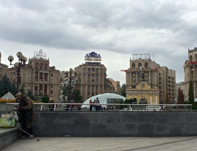 Kiew_Maidan_Gebauede1