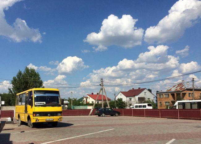 Grenze Polen Ukraine
