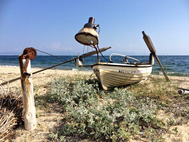 Altes Fischerboot, Thassos
