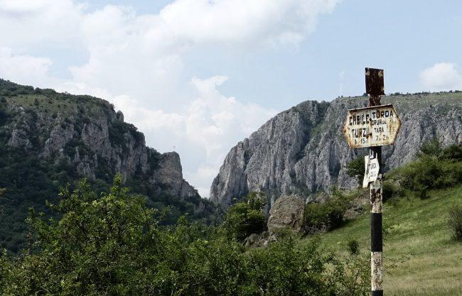 Wandern Cheile Turzii Thorenburger Schlucht