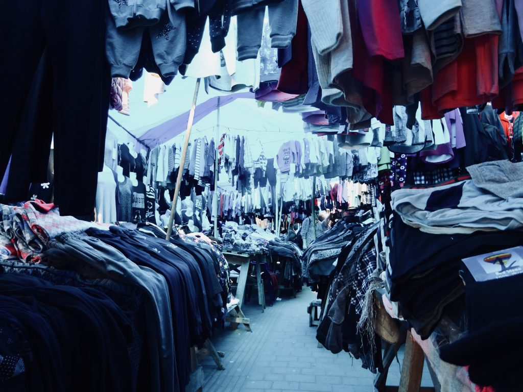 Urlaub in Batumi Georgien: immer in Richtung Markt gehen