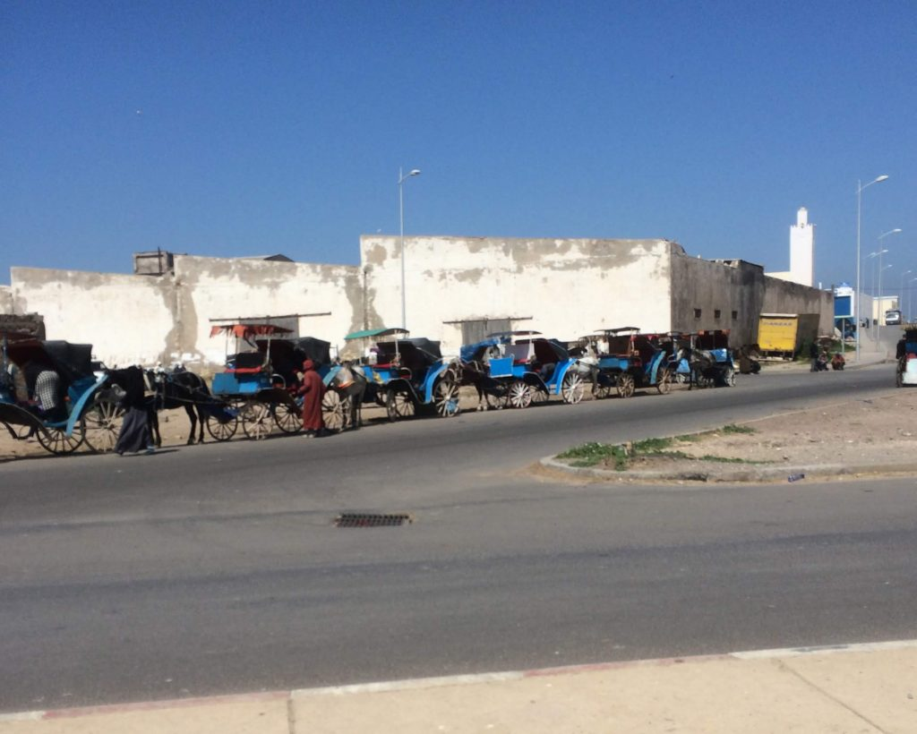 Kutschen Taxis Essaouira